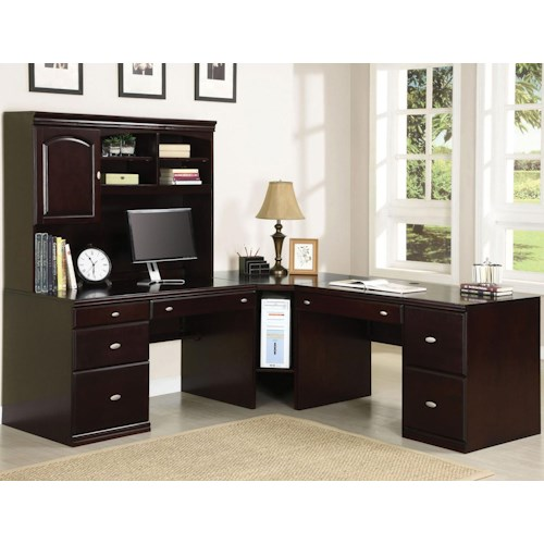 Acme Furniture Cape Corner Desk w/ Hutch