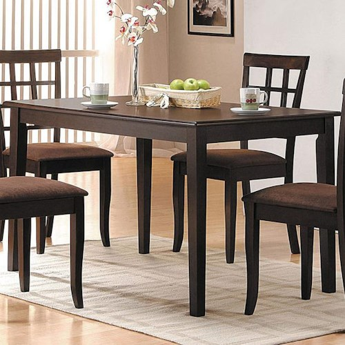 Acme Furniture Cardiff Espresso Rectangular Dining Table