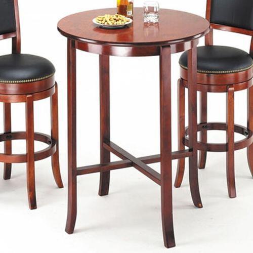 Acme Furniture Chelsea Transitional Oak Bar Table
