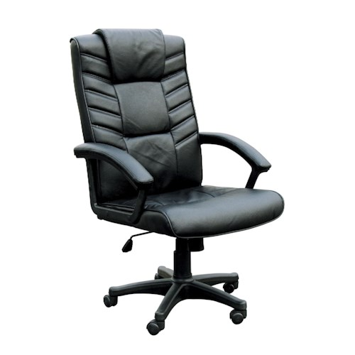 Acme Furniture Chesterfield Executive Office Chair W/Pneumatic Lift