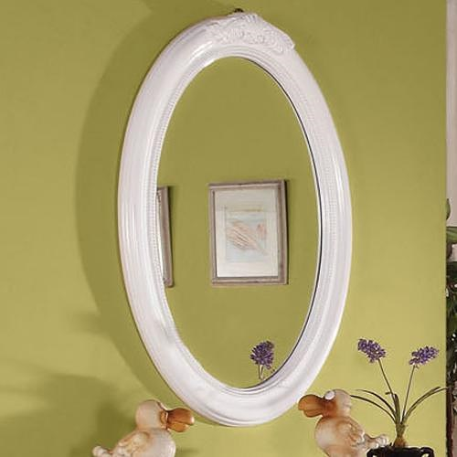 Acme Furniture Classique Traditional Youth Oval Mirror