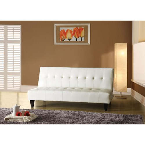 Acme Furniture Conrad Contemporary Adjustable Sofa