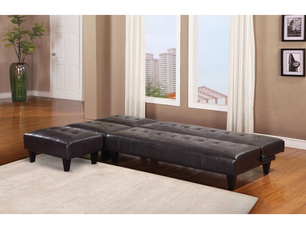 Shown with Ottoman and Adjustable Sofa