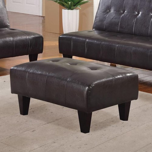 Acme Furniture Conrad Contemporary Ottoman