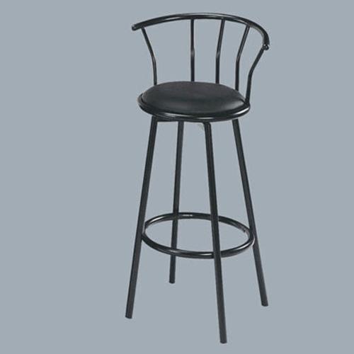 Acme Furniture Cucina Black Swivel Bar Stool