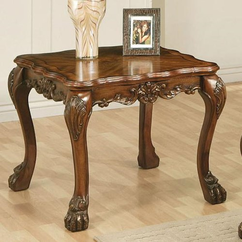 Acme Furniture Dresden Square End Table