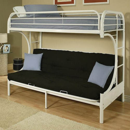 Acme Furniture Eclipse Twin/Full Bunk Bed