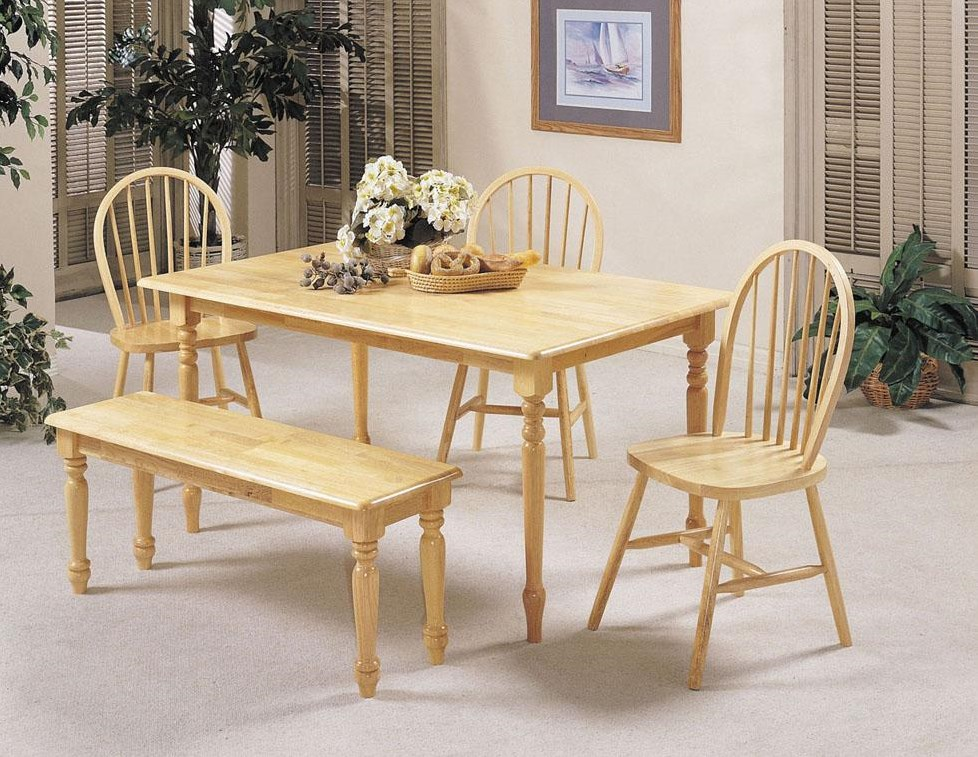 Shown with Spindle Chairs and Bench