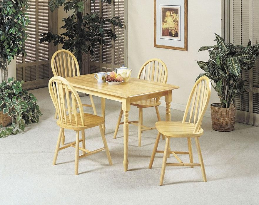 Shown with Rectangular Table with Wood Veneer Top