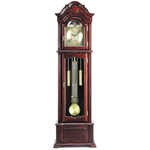 Acme Furniture Grandfather Clocks Dark Walnut Finish Grandfather Clock