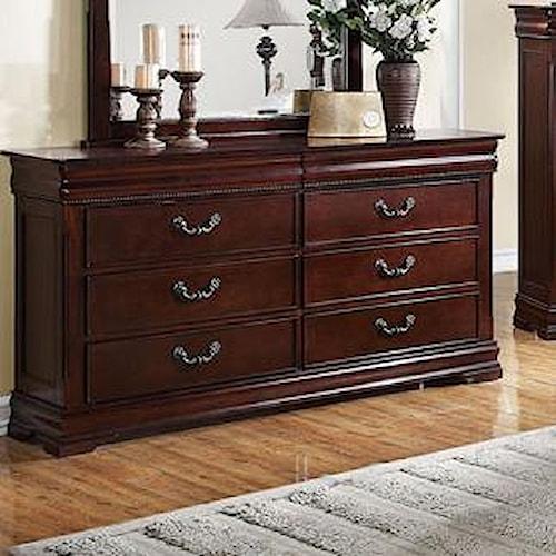 Acme Furniture Gwyneth Dresser with 8 Drawers