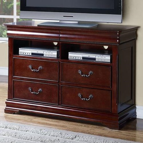 Acme Furniture Gwyneth TV Console with 4 Drawers