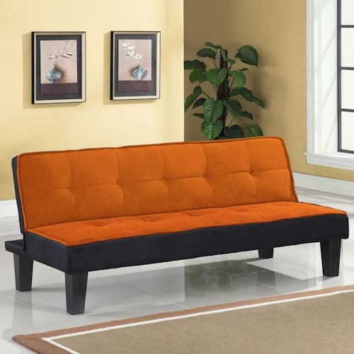 Acme Furniture Hamar  Flannel Adjustable Sofa