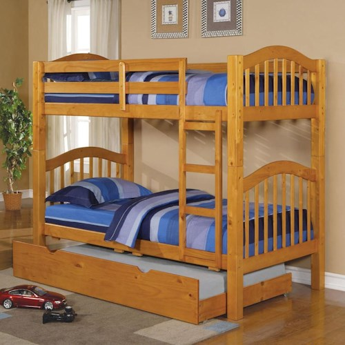 Acme Furniture Heartland  Bunkbed & Trundle