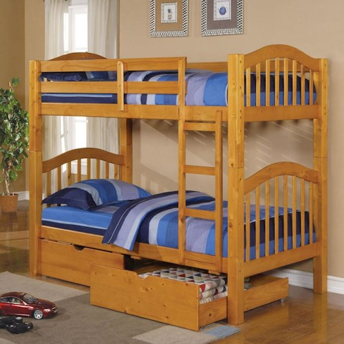 Acme Furniture Heartland  Bunkbed & Drawers