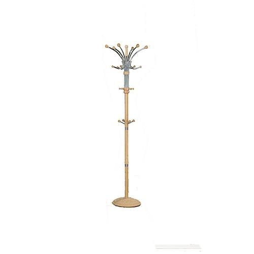 Acme Furniture Hubert  Contemporary Metal and Wood Coat Rack