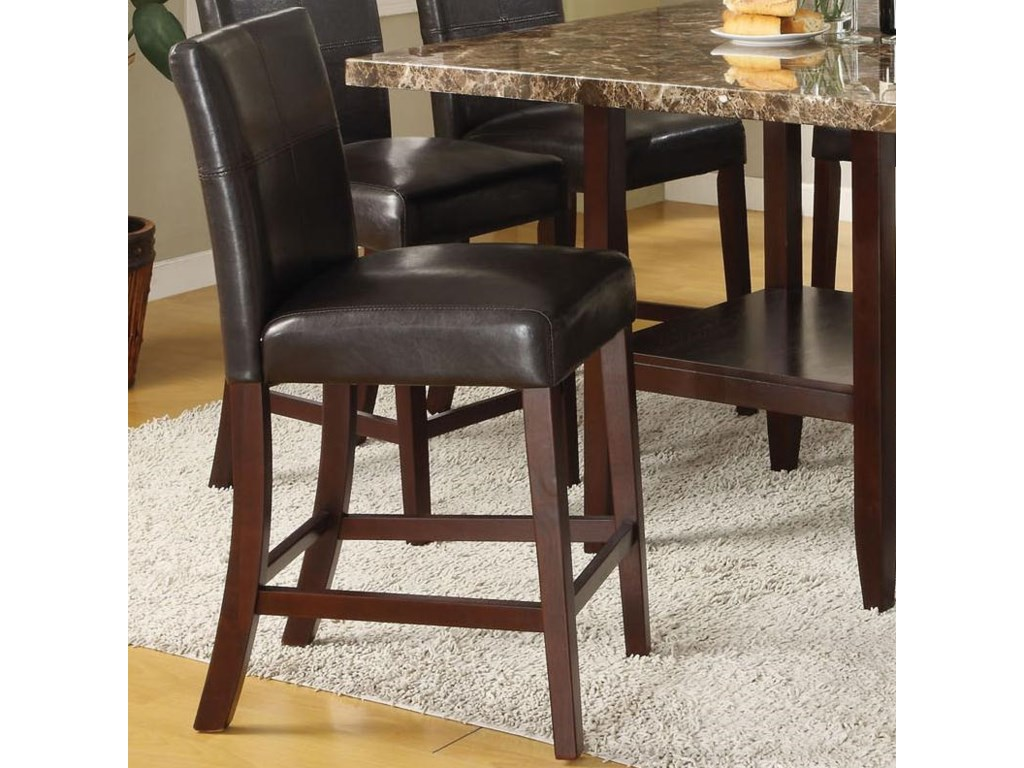 Six Counter Height Chairs Included in Set