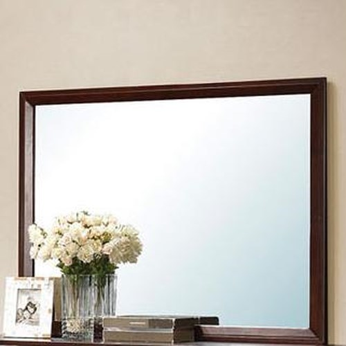 Acme Furniture Ilana Rectangular Landscape Mirror with Beveled Edges