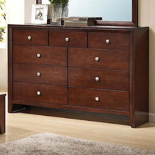 Acme Furniture Ilana 9 Drawer Dresser