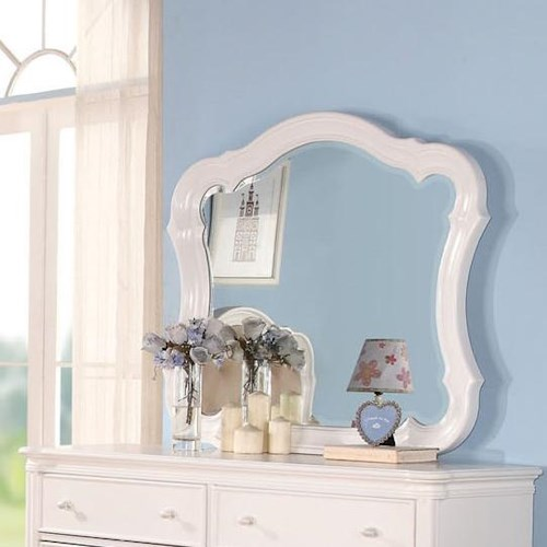 Acme Furniture Ira Youth Traditional Dresser-top Mirror