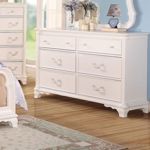 Acme Furniture Ira 6-Drawer Youth Dresser