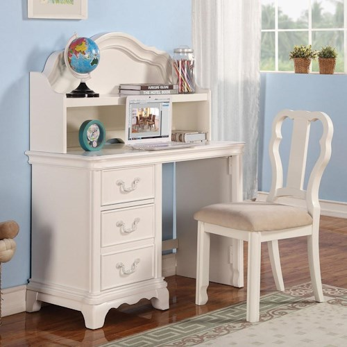 Acme Furniture Ira Youth Desk and Hutch