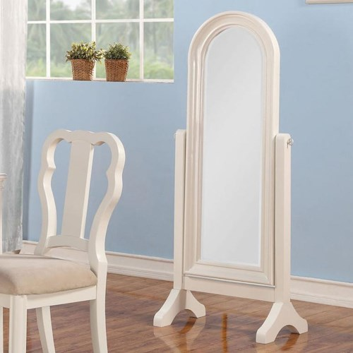 Acme Furniture Ira Youth Cheval Floor Mirror
