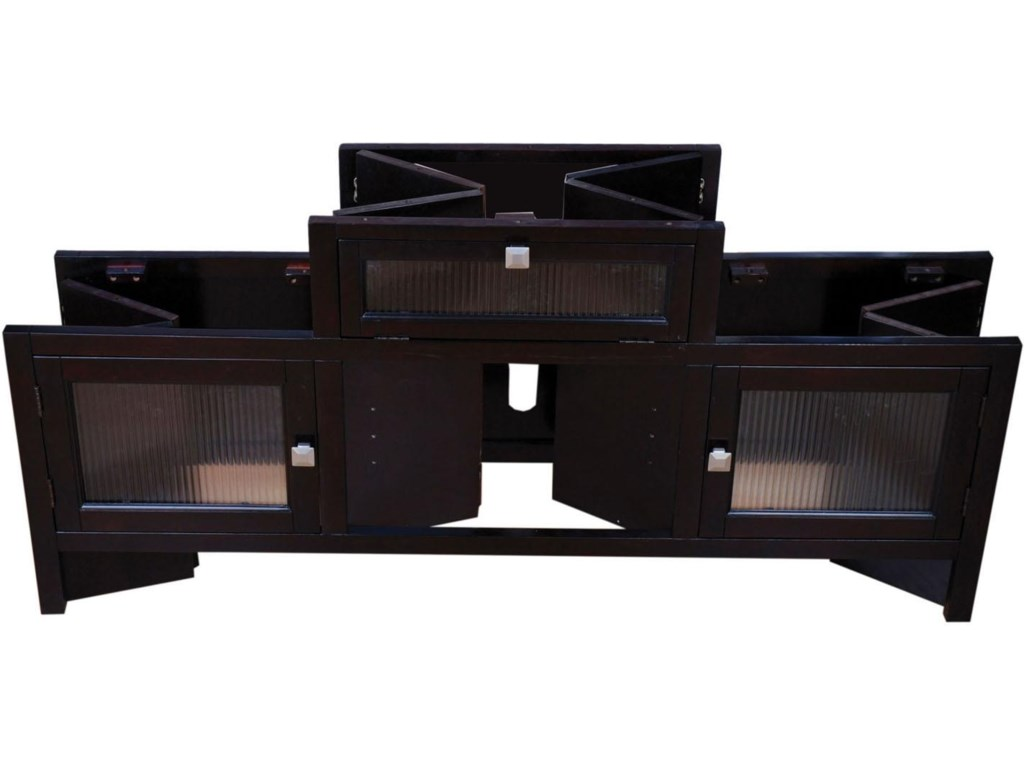 View of Folded TV Stand