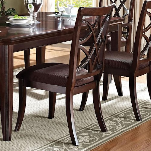 Acme Furniture Keenan Transitional Dining Side Chair