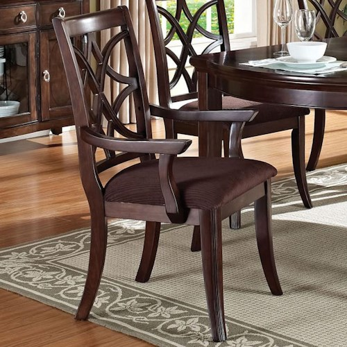 Acme Furniture Keenan Transitional Dining Arm Chair