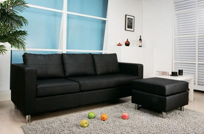 Converted Into Sofa and Ottoman