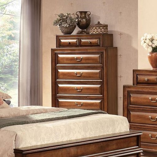 Acme Furniture Konane Traditional Chest of Drawers
