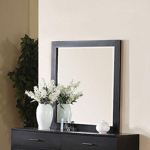 Acme Furniture London Contemporary Dresser-top Mirror
