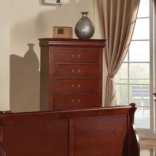 Acme Furniture Louis Philippe III Transitional Chest of Drawers