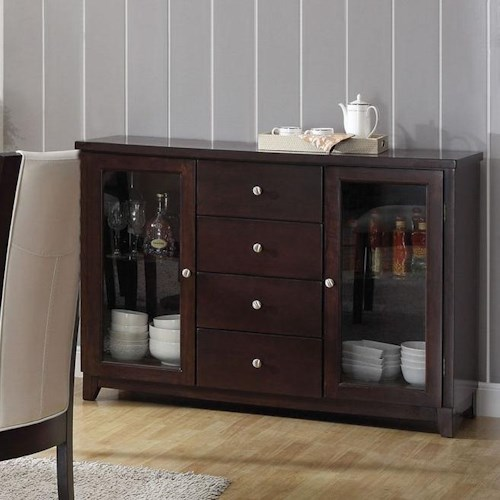 Acme Furniture Malik Dining Server W/ Storage