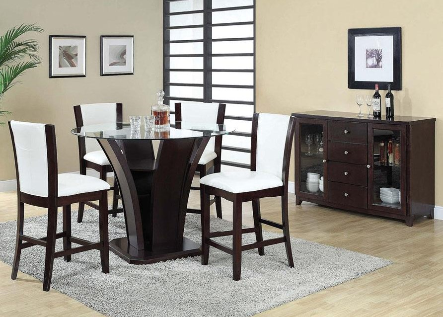 Shown in 5-Piece Counter Height Set with Server