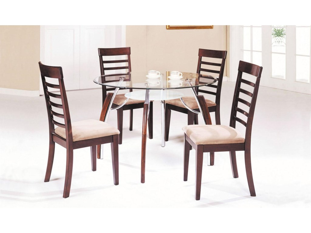 Shown with Dining Chairs