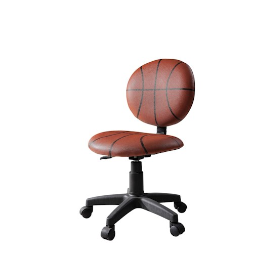 Acme Furniture Maya Sports Pattern Office Task Chair with Swivel Base