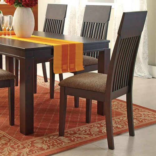 Acme Furniture Medora Espresso Mission Dining Side Chair