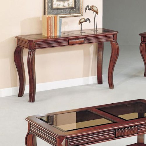 Acme Furniture Overture Transitional Sofa Table