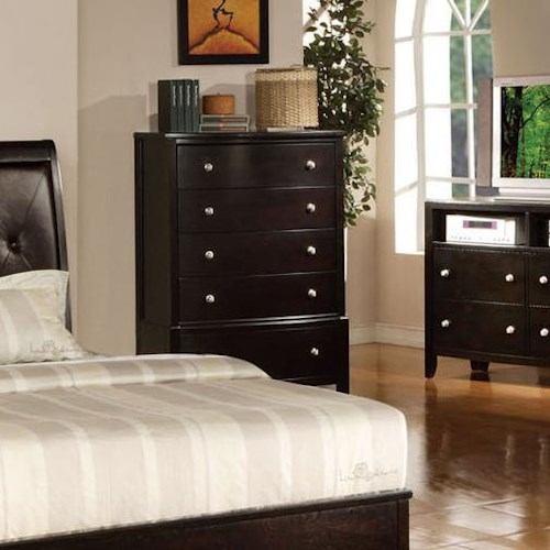 Acme Furniture Oxford Five-Drawer Chest