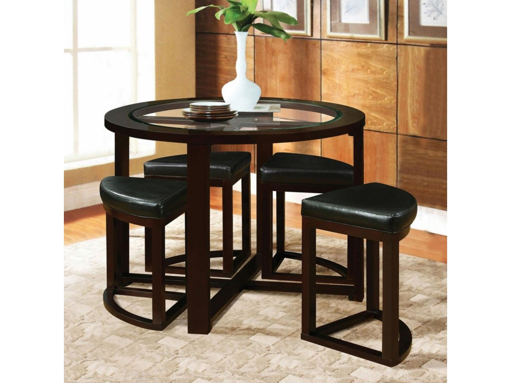 Shown with Counter Height Stools