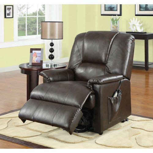 Acme Furniture Reseda  Power Recliner with Massage Functions