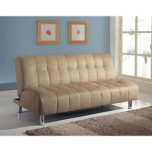 Acme Furniture Sylvia Contemporary Beige Adjustable Sofa