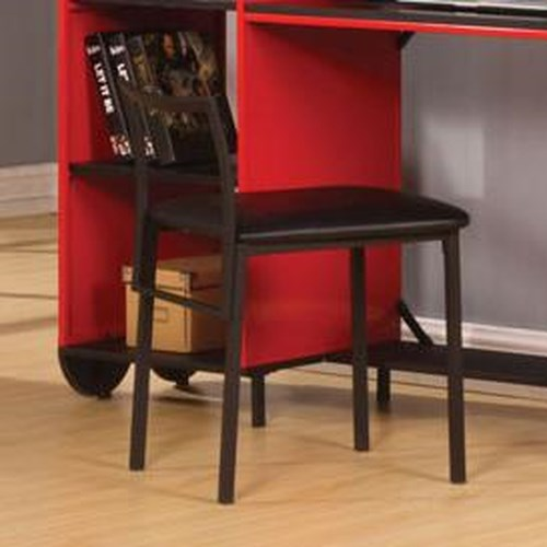 Acme Furniture Tobi Black Youth Desk Chair
