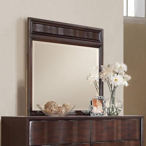 Acme Furniture Travell Dresser Mirror with Beveled Edge