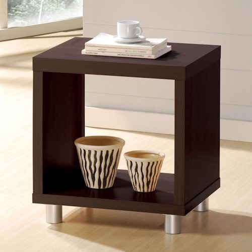 Acme Furniture Tustin Contemporary End Table