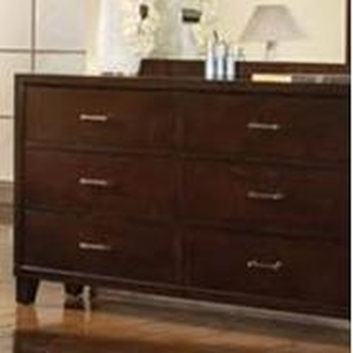 Acme Furniture Tyler 6 Drawer Dresser