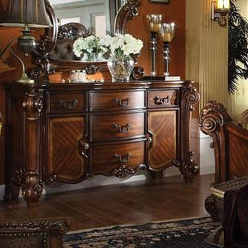 Acme Furniture Vendome Dresser with 4 Drawers and 2 Doors