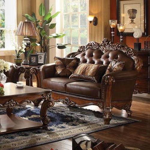 Acme Furniture Vendome Loveseat with Tufted Back